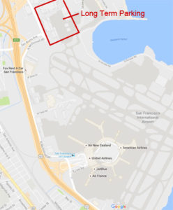 SFO airport parking guide